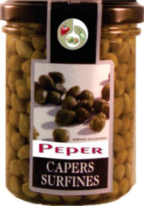 Capers surfines